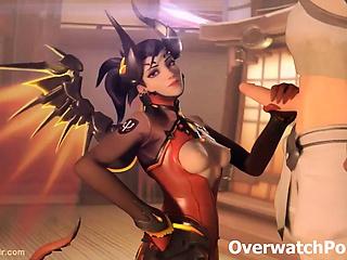 Overwatch Mercy Compilation